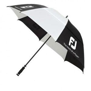 Footjoy paraplu zwart/wit