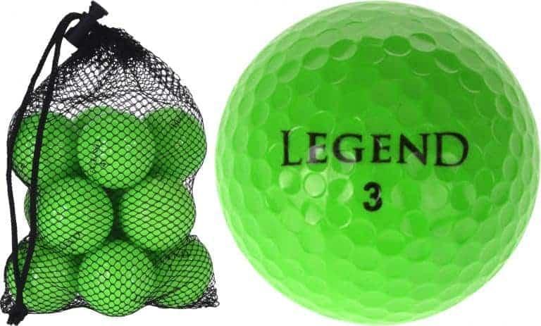 Legend golfbal groen
