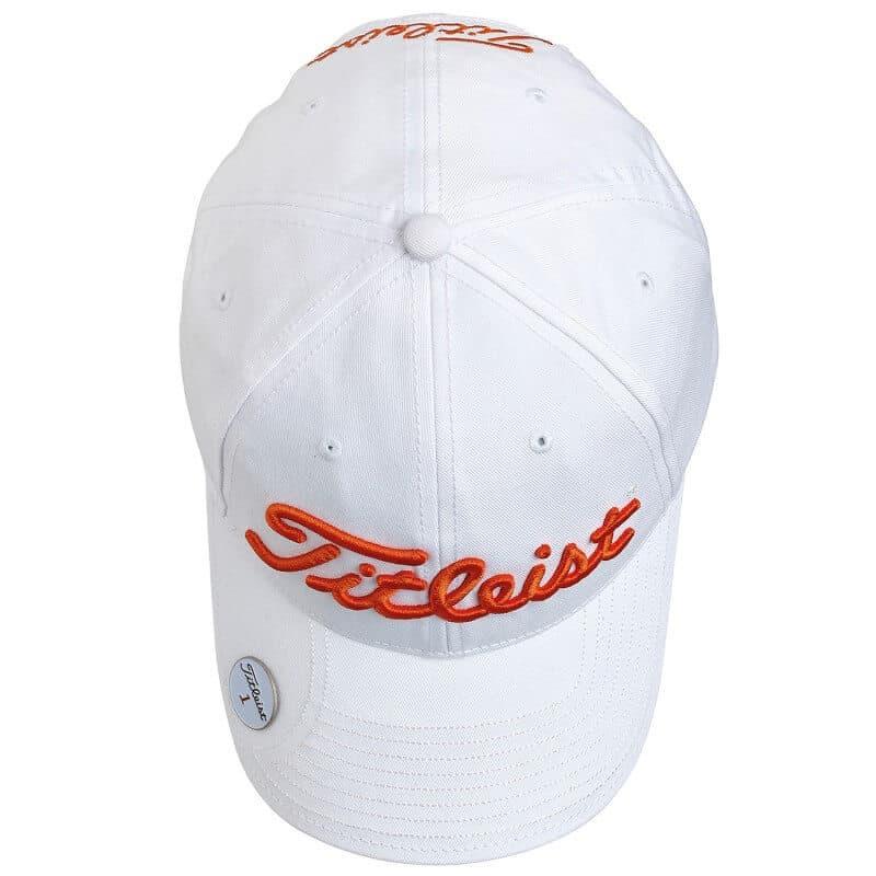 e7b48952d65 Titleist ballmarker cap wit oranje - uwgolfwinkel.nl