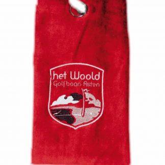 Woold Handdoek Rood