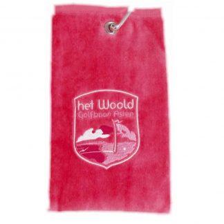 Woold Handdoek Roze