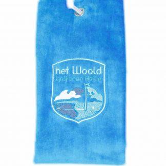 Woold Handdoek Lichtblauw