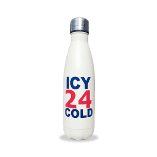 icy 24 cold stainless steel bottles