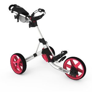 Clicgear trolley 3.5+ Arctic/Pink