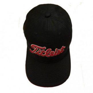 79051eea6a4 Titleist Junior Adjustable Cap Zwart Rood Wit