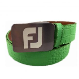 Footjoy mint croc belt