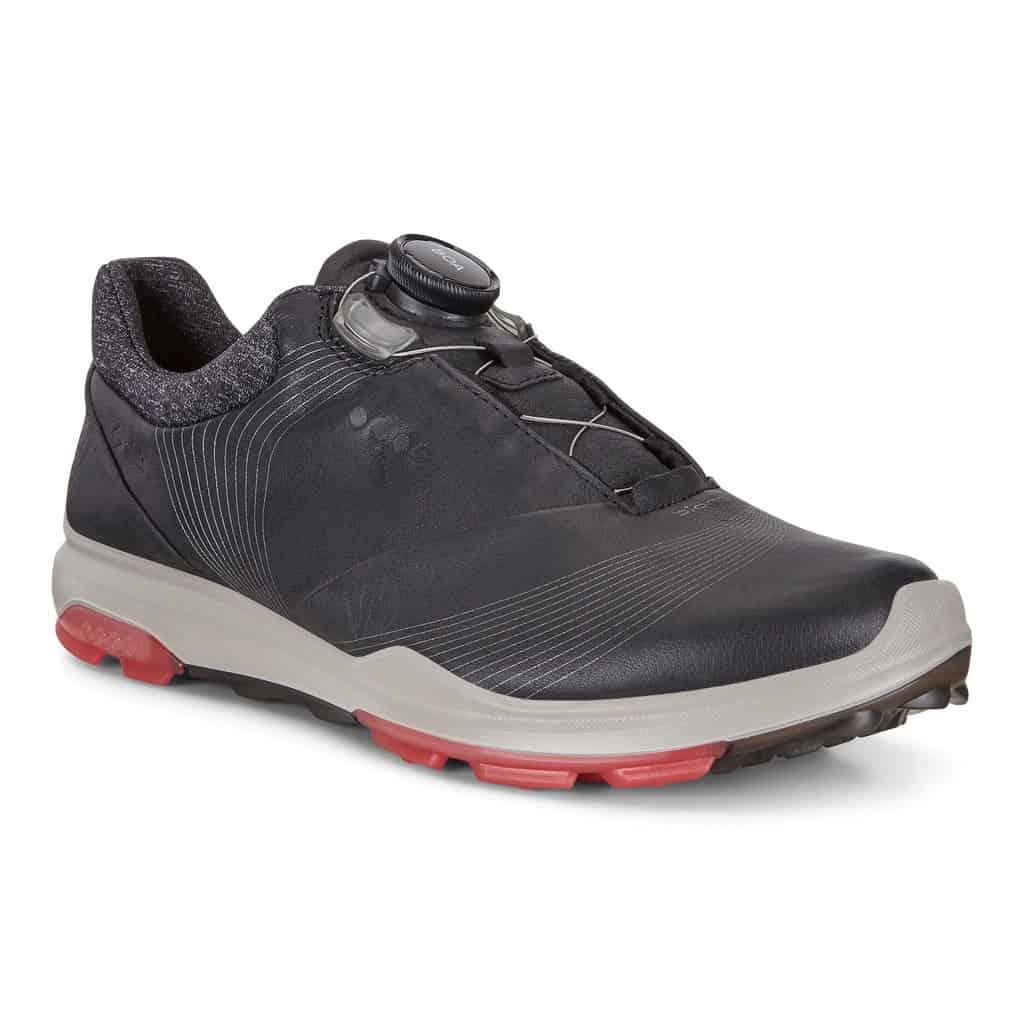 Ecco dames golfschoen biom hybrid 3 BOA blackteaberry