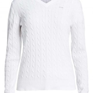 Röhnisch cable pullover white