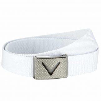 Callaway webbed belt bright white (CGAS50H)
