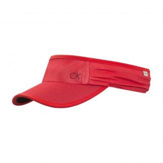 Calvin Klein visor rood