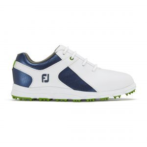 Footjoy junior white + blue