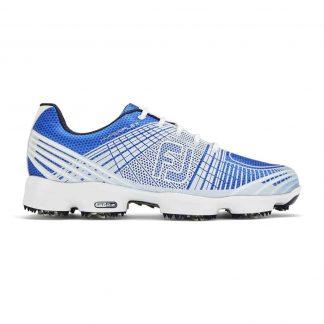 Footjoy hyperflex II blue + white