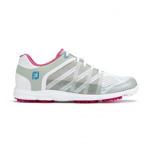 Footjoy sport SL light grey + berry