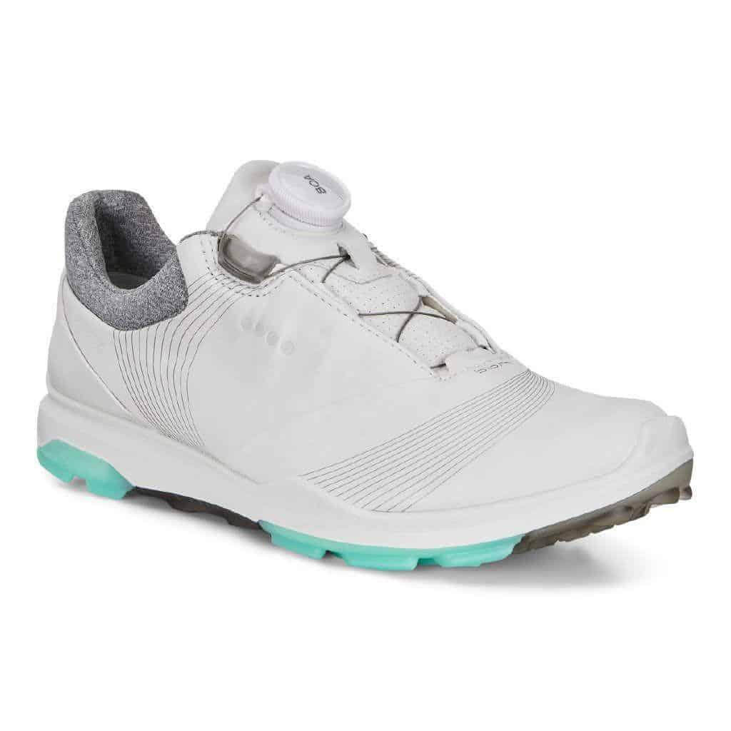 Ecco dames golfschoen biom 3 whiteemerald BOA