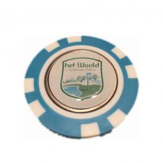 Woold Pokerfiche Met Marker