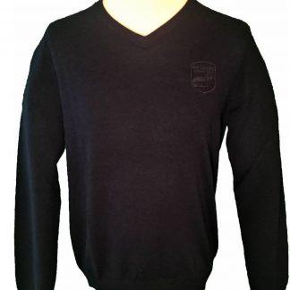 Footjoy trui met logo van golfbaan het woold