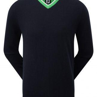 Footjoy pullover navy/groen (92452)
