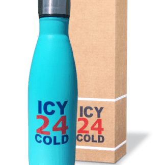 Icy 24 cold drinkfles turquoise