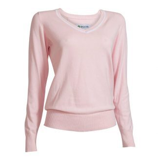 Backtee dames golftrui roze