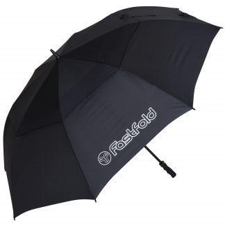 Fast fold paraplu zwart