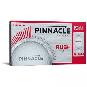 Pinnacle Rush 15 Pack Golfballen