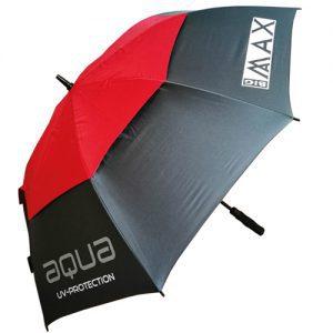 Big Max Aqua Paraplu met UV-bescherming rood