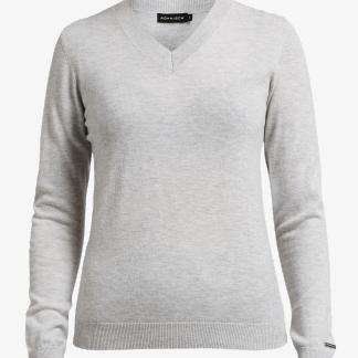 Röhnisch Merino Pullover Grey Melange