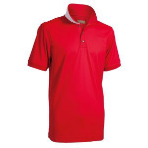 Backtee heren polo rood