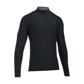 Under armour golf trui (playoff 1/4 zip black 1298951-001)