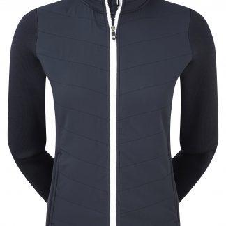 Footjoy dames gewatteerd, warm golf jack (thermal quilted jacket navy 96025)