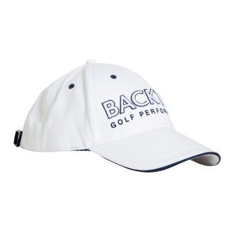 Backtee cap white