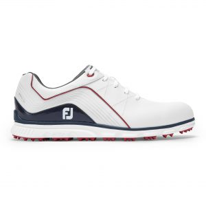 Footjoy heren golfschoen Pro/SL white, navy, red 53269