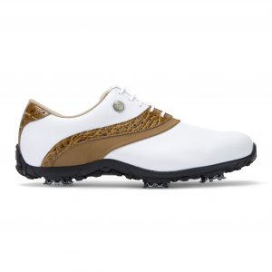 Footjoy dames golfschoen A.R.C. LP white, tan 93950
