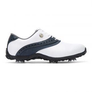 Footjoy dames golfschoen A.R.C. LP white, navy 93951