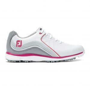 Footjoy dames golfschoen Pro/SL white, grey, fuchsia 98101
