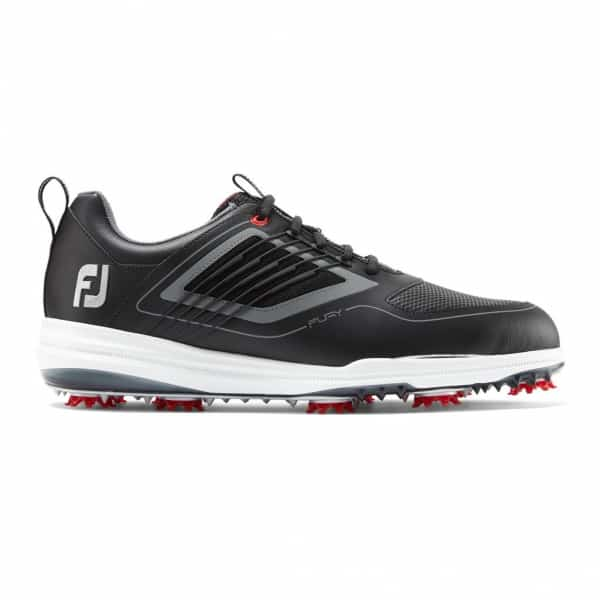 Footjoy heren golfschoen Fury black, red 51103