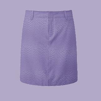 Under armour golf rokje purple 1326930