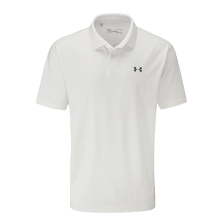 Under armour heren performance polo 2.0 white/pitch gray 1342080
