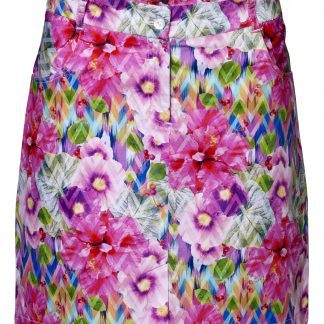 Girls golf rokje flower power 13729