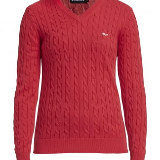Röhnisch cable pullover red (234481)