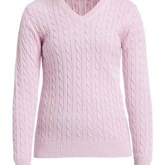 Röhnisch cable pullover light pink (234481)