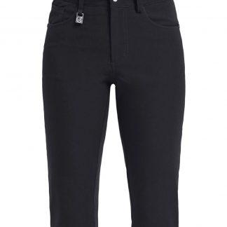 Röhnisch dames golf broek zwart firm pirate 250703