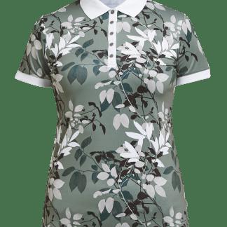 Röhnisch dames golf polo leaf, green 726203