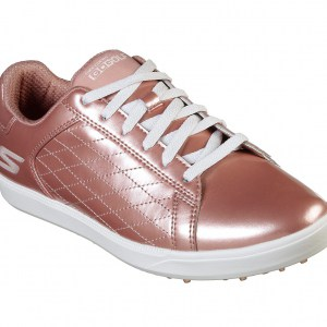 Skechers dames golfschoen go golf drive-shine rosé gold 14881