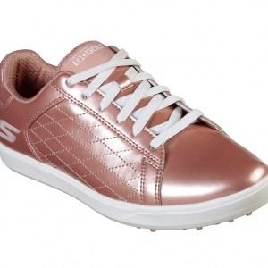 Skechers dames golfschoen go golf drive-shine rosé gold 14881
