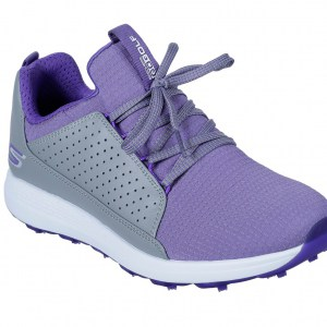 Skechers dames golfschoen go golf max grey purple