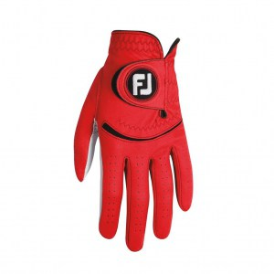 Footjoy mens spectrum red