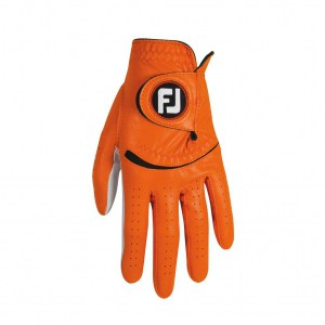 Footjoy mens spectrum orange