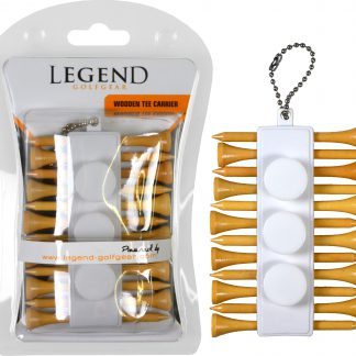 Legend Wooden Tee Carrier