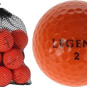 Legend Golfballen 12 Stuks oranje